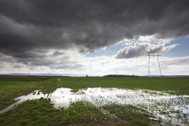Representational image of clouds over a dry farm land. (Photo: iStock)
