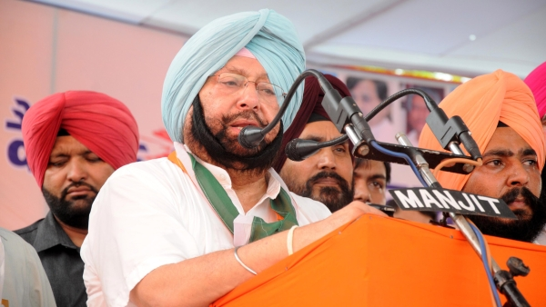 File photo of Captain Amarinder Singh. (Photo: IANS)