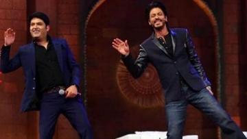 "Kapil Sharma and Shah Rukh Khan. (Photo: <a href=""https://twitter.com/TheKapilSShow"">Kapil Sharma Show Twitter</a>)"