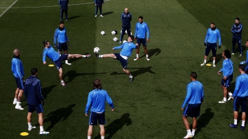 Full strength Real Madrid prepares ahead of their crucial Champions League QF second leg match (Photo: Reuters)