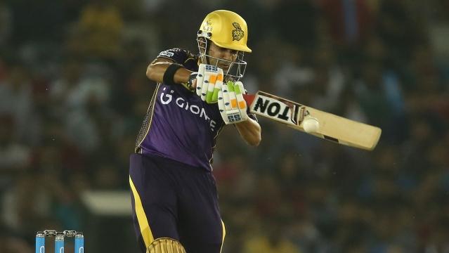 Gautam Gambhir scored run a ball 34 (Photo: BCCI)