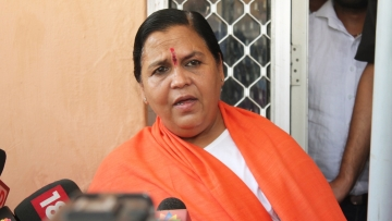 A file photo of Uma Bharti. (Photo: IANS)