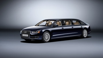 Audi A8L Extended. (Photo Courtesy: Audi)