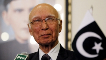 Sartaj Aziz, Pakistani Foreign Affairs Advisor (Photo: Reuters)