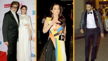 Aishwarya, Ranveer, Amitabh Glam Up Hall of Fame Awards Night(Photo: Yogen Shah)