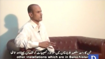 Kulbhushan Yadav is shown to be a Commander in the Indian Navy in the video. (Photo: YouTube/DawnNews)