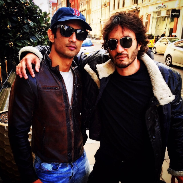 Sushant Singh Rajput and Homi Adajania in Budapest.