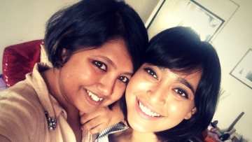 Sayani Gupta tells Abira Dhar all about her fan girl moment with Shah Rukh Khan (Photo: Abira Dhar)