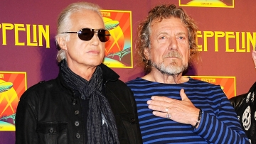 A file photo of the members of Led Zeppelin, guitarist Jimmy Page, left, and singer Robert Plant. (Photo: AP)