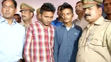 Police have arrested the two accused, Junaid (left) and Reyaan (Photo: ANI screengrab)