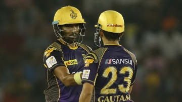 The opening duo of KKR laid the foundations of the win (Photo: BCCI)