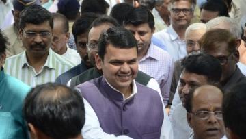 File photo of Maharashtra Chief Minister and BJP leader Devendra Fadnavis. (Photo: IANS)