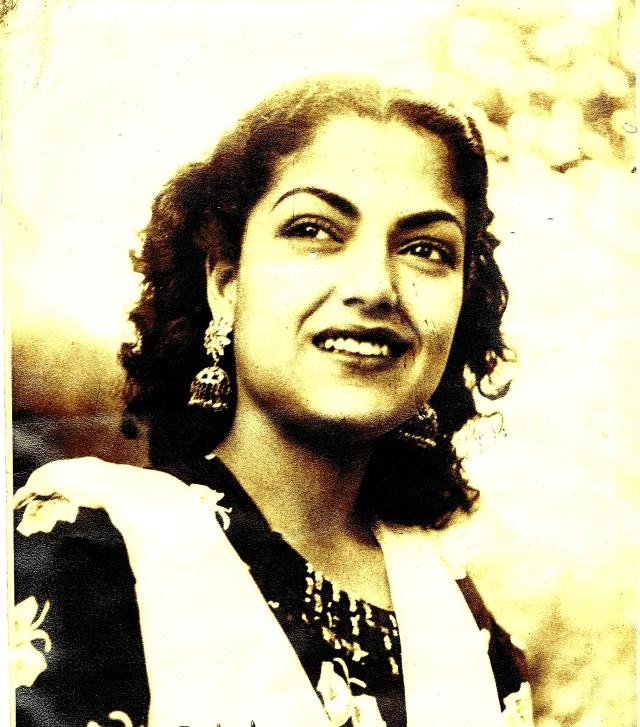 Khalid Mohamed's mother Zubeida.