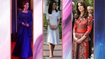 Kate Middleton's visit left us with invaluable style lessons (Photos: AP)