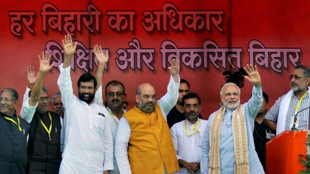 """Why did the BJP lose Bihar? They lost because the BJP wanted the BJP to lose."" (Photo: PTI)"