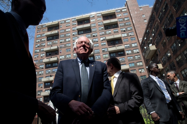 Sanders needs  a strong victory if he is ever to overtake Clinton. (Photo: AP)