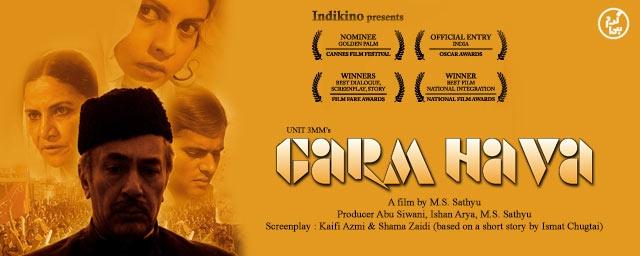 A poster of <i>Garam Hawa</i>