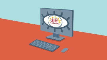 A major concern is that the Aadhaar Act, 2016 strips citizens of their right to report criminal activities and breaches concerning Aadhaar. (Photo: iStock/Altered by <b>The Quint</b>)
