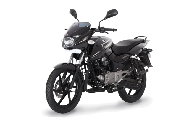 "Bajaj Pulsar 150 DTS-i. (Photo Courtesy: <a href=""http://www.bajajauto.com/pulsar150dtsi_virtual_gallery.asp#topLook"">Bajaj</a>)"