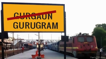Gurgaon will now be called Gurugram and Mewti district will be called Nuh. (Photo: <b>The Quint</b>)