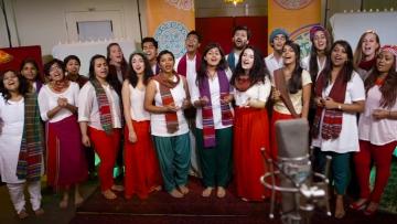 The Berklee Indian Ensemble. (Photo: Youtube Screengrab)