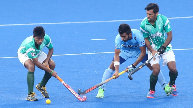 India's Manpreet Singh in action. (Photo: Hockey India)