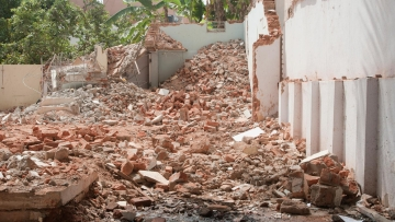A 20-foot wall from a two story building fell on 5 people during a demolition drive carried out by Ahmedabad Municipal Corporation. The image is used for representational purpose. (Photo: iStockphoto)