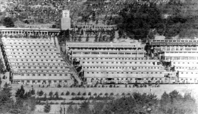 This undated photo shows the Brothers Home compound in Busan, South Korea. (Photo: AP)