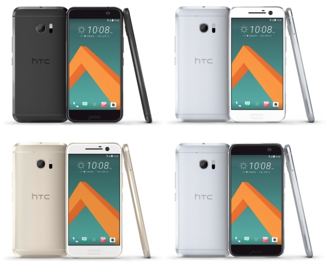 HTC 10 in different colour avatars. (Photo Courtesy: HTC)