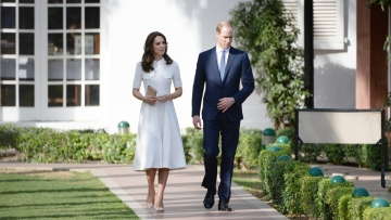 The Dutch and Duchess of Cambridge, William and Kate. (Photo: AP)