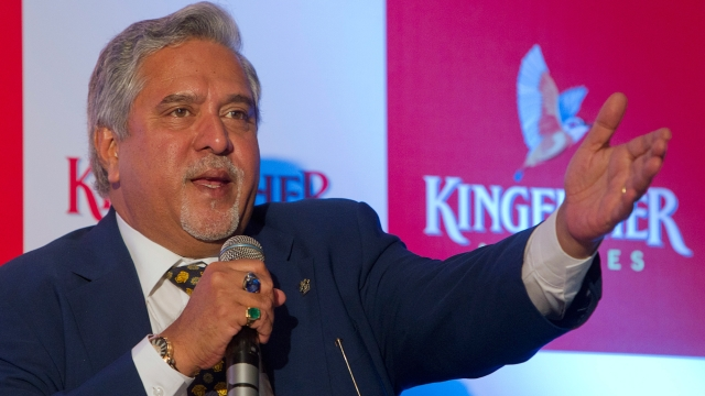 A non-bailable warrant for the arrest of UB Group chairman Vijay Mallya was issued by a special court. (Photo: Reuters)