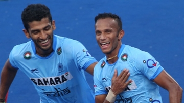 SV Sunil struck twice as India thrashed their neighbours 5-1 in a round-robin fixture of the Sultan Azlan Shah Cup at Ipoh. (Photo: Hockey India)