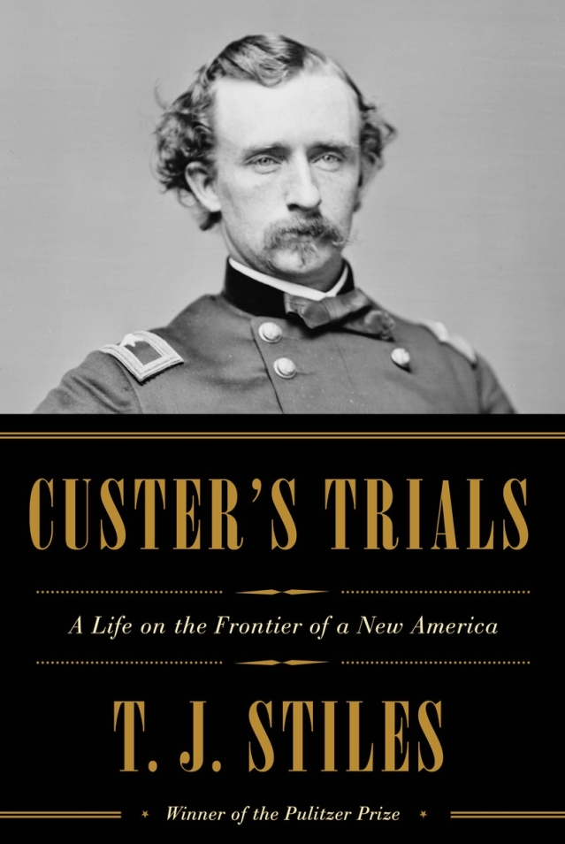 "This book cover image released by Alfred A. Knopf shows, ""Custer's Trials: A Life on the Frontier of a New America,"" by TJ Stiles. (Photo: AP)"