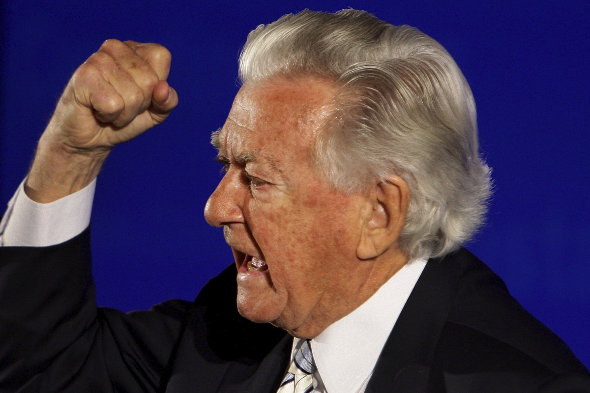 Bob Hawke holds a world record for consuming a yard of ale in eleven seconds! (Photo: iStockPhoto)