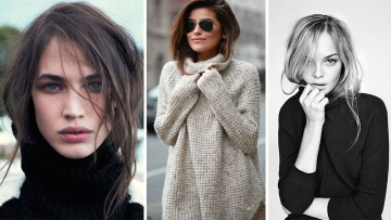 Turtleneck hair: The ultimate hairstyle hack (Photos: Pinterest)