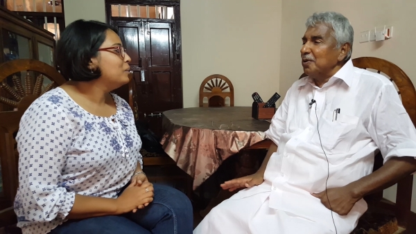 <b>The Quint</b> speaks to Mr Oommen Chandy at his constituency Puthuppally, from where he has won 11 consecutive times. (Photo: <b>The Quint</b>)