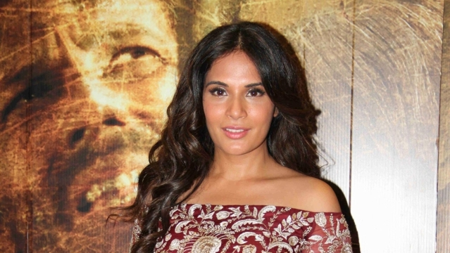 Richa Chadha during a promotional event. (Photo: IANS)