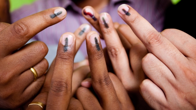 983 out of 1,146 persons view the process of polling negatively.