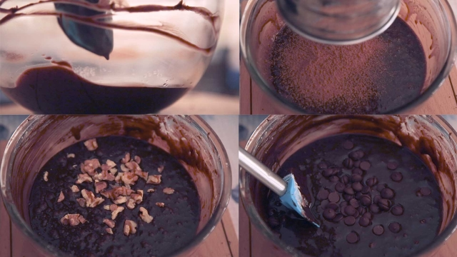 All that goes into making triple chocolate brownies (Photo: <b>The Quint</b>)