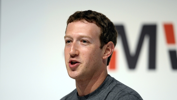 Mark Zuckerberg speaking to conservative leaders. (Photo: AP)