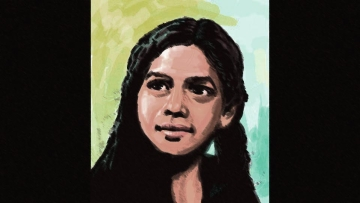 "An artist's impression of Aruna Shanbaug. (Photo Courtesy:<a href=""https://www.facebook.com/pages/Aruna-Shanbaug-Case/238954026171811?sk=timeline""> Facebook/Aruna Shanbaug Case</a>)"
