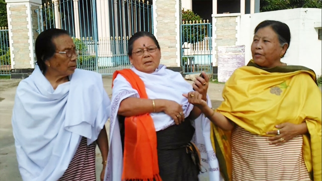 The mothers are still waiting for Manorama's killers to be punished. (Photo: Sunzu Bachaspatimayum)