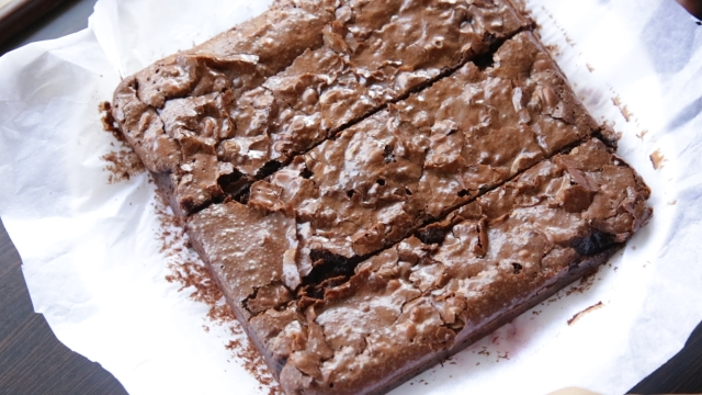 The brownies should be crispy on  top and gooey in the centre (Photo: <b>The Quint</b>)
