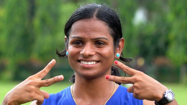 Dutee Chand created a new national record in the recently concluded Federation Cup in Delhi (Photo: IANS)
