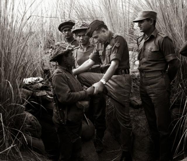 "Sam Bahadur. (Photo Courtesy: <a href=""http://inbministry.blogspot.in/2014/04/sam-bahadur-indefatigable-field-marshal.html"">Major General BNBM Prasad & DPR Photo Division</a>)"