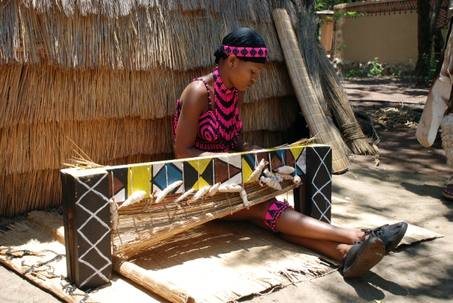 A Zulu woman weaves a traditional straw carpet. Image used for representation. (Photo: iStockphoto)