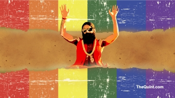 Baba Ramdev has claimed that homosexuality can be cured by practising yoga. (Photo: <b>The Quint</b>)