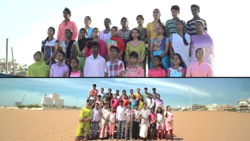 The Chennai Children's Choir formed by Nalandaway Foundation. (Photo: YouTube Screenshot)