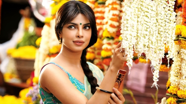 Priyanka Chopra in a still from <i>Gunday </i>
