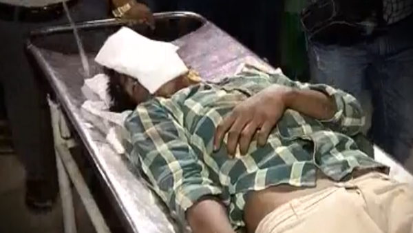 The victim, identified as P Krishna (15), was found lying on railway tracks near Mancheswar railway station in an unconscious state. (Photo: ANI screengrab)